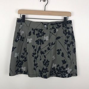 Gap Factory Floral Mini Skirt with Pockets Size 4